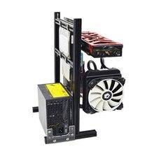 Горячие компьютерные корпуса с водяным охлаждением шасси Настольный мейнфрейм для игрового шасси DIY MINI/M/ATX вертикальное основное шасси