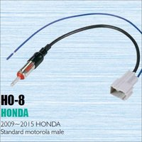 Car Radio Antenna Adapter Cable Wire For Honda 2009 2013 Aftermarket Stereo CD DVD GPS Installation