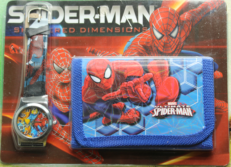 1Pcs Free delivery  Christmas Spiderman watches and wallet watches many styles set the packet atamjit singh pal paramjit kaur khinda and amarjit singh gill local drug delivery from concept to clinical applications