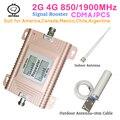 Умный ЖК-дисплей 4G 1900 МГц усилитель сотовой связи 65 дБ усиление 2G 3G усилитель сигнала повторитель наборы для офиса сотовый усилитель сигнал...