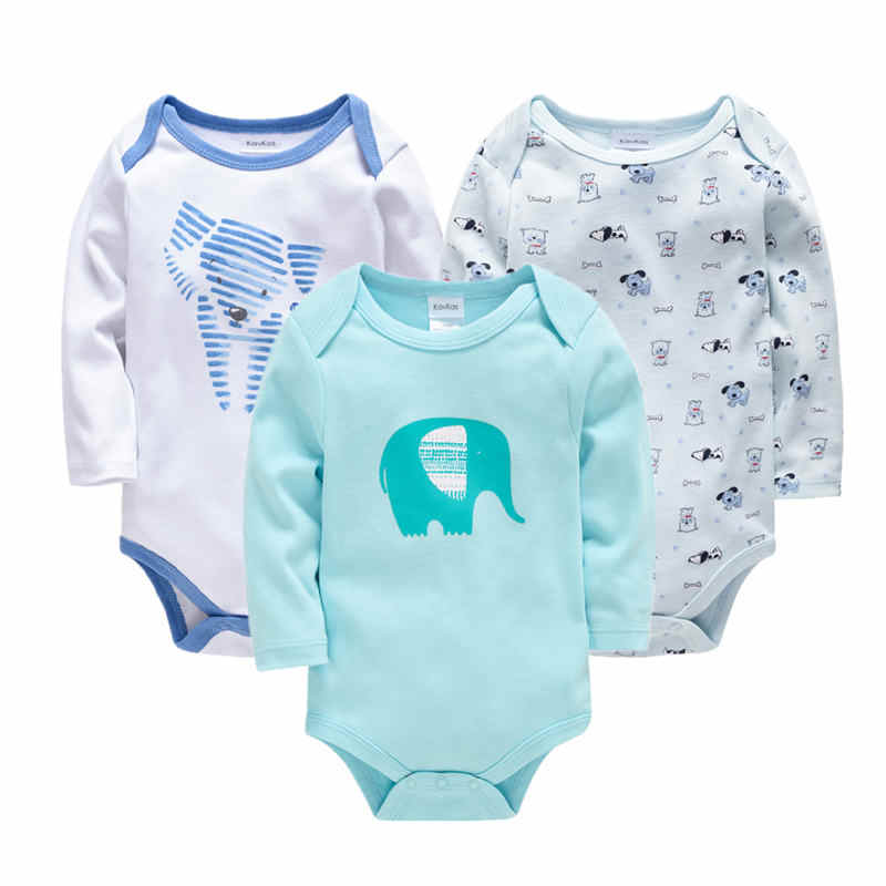 be46d80c12f46 2PCS Newborn Bodysuit Baby Clothing Cotton Body Baby Long Sleeve Underwear  Infant Boys Girls Clothes Baby Sets Cartoon Outerwear