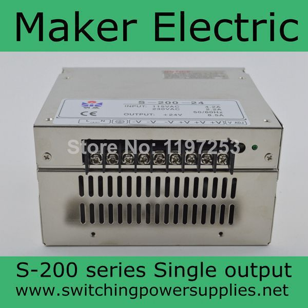 high quality power transformer 220v to 48v 4.2A  200W  led switching power supply S-200-48 wavelets as a tool to approach power quality