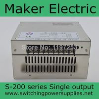 high quality power transformer 220v to 48v 4.2A 200W led switching power supply S 200 48