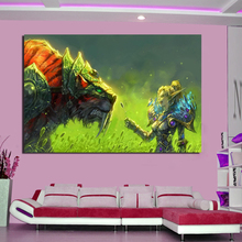 World Of Warcrafts Hunter Wall Art Canvas Poster And Prints Painting Decorative Picture For Office Living Room Home Decor