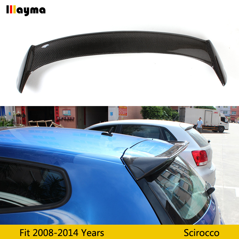 OSIR Style Carbon Fiber rear trunk spoiler For Scirocco 2 door coupe 1.4T Car rear wing spoiler 2008 2010 2011 2012 2013 yearOSIR Style Carbon Fiber rear trunk spoiler For Scirocco 2 door coupe 1.4T Car rear wing spoiler 2008 2010 2011 2012 2013 year