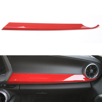 YAQUICKA Car Co-driver Passenger Seat Front Panel Decoration Trim Styling Sticker For Chevrolet Camaro 2017+ ABS Car-covers
