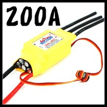 Gleagle Cloud 200A Brushlss Motor ESC With 5A UBEC RC Speed Controller Rc Airplane Helicopter