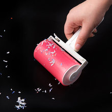 Cleaning Sticky Hair Roller Reusable Wool Dust Catcher Washable Carpet Dust Drum Lint Cloth Hair Remover Brushes FG