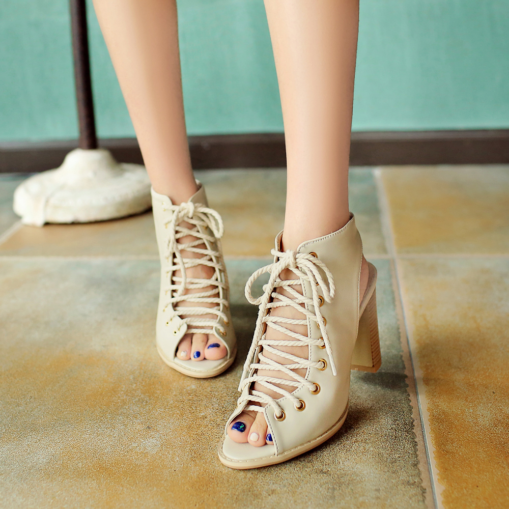 ФОТО Plus Big Size 33- 48 Sandals  Ladies Platforms lady Fashion Dress Shoes Sexy High Heel Shoes Women Pumps M111