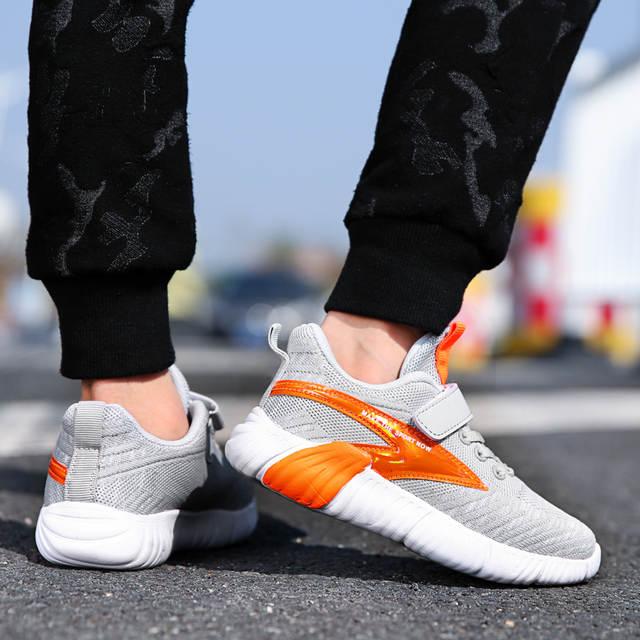 sale retailer bfa39 6f69d US $18.04 5% OFF Original Kids Sneakers Running Boys Girls Shoes Ultras  Wearable Chlidren Desert Rat 500 Kanye Boost 700 Trainer Max Size 40-in ...