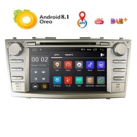2 Din Quad Core 8 Android 8.1 Car DVD GPS Navigation For Toyota Camry 2007 2008 2009 2010 Head Unit Car Stereo radio DAB DVR BT