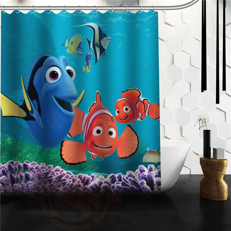 Aliexpress.com : Buy Custom Classic Finding Nemo Bathroom Waterproof Shower  Curtain Durable Classic Bathroom Decorative Best Gift From Reliable  Waterproof ... Part 69