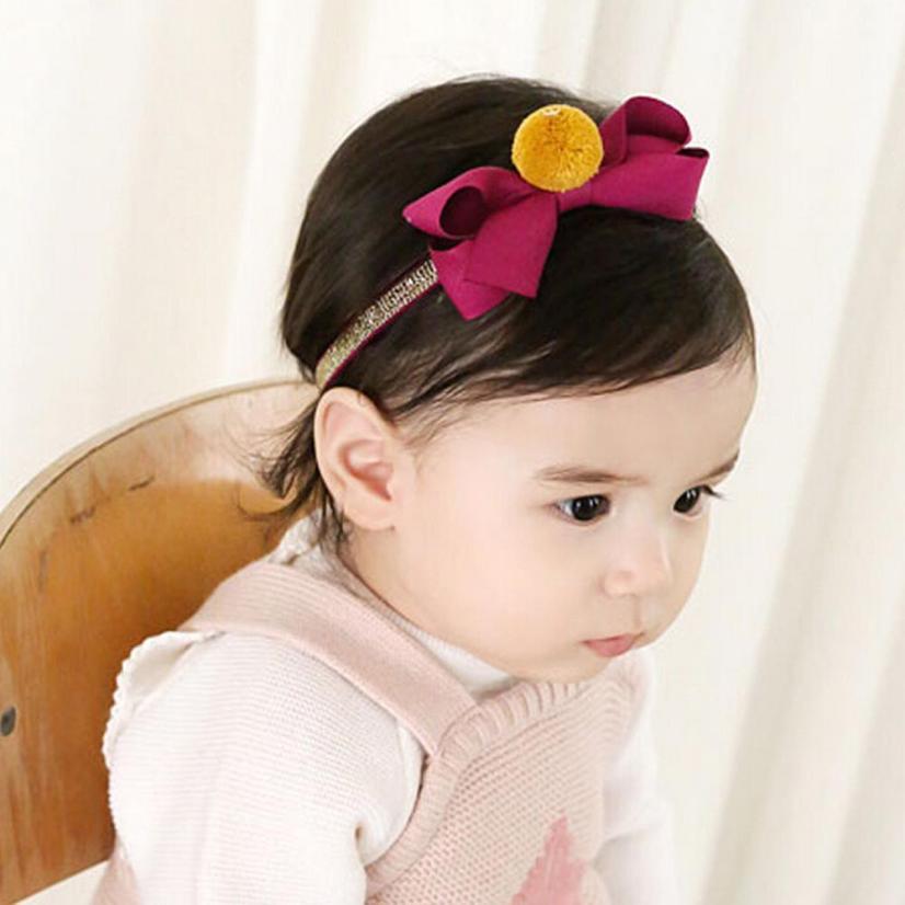 Baby Girl Head Accessories Baby Headband Bow Hairband Bowknot Headwear Infant Kids Toddler Headband Grampo De Cabelo Infantil 2#