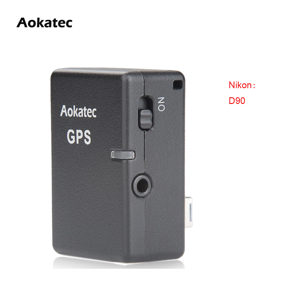 Free Shipping New Version!!! Aokatec AK-G9 GPS Receiver Wireless for Nikon DSLR Camera D90 new version aokatec ak g9 gps receiver wireless for nikon dslr camera d90