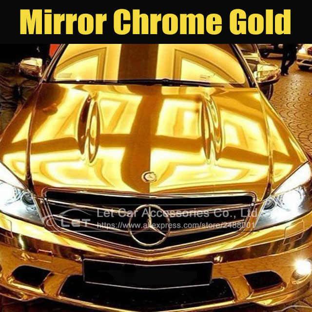 VORCOOL Decalcomania per Auto 12Mm in Nastro Adesivo a Doppia Linea in Vinile Color Oro