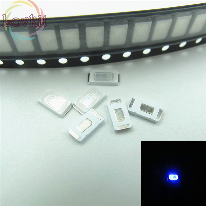 500pcs 5630 5730 Smd Blue Led 3.0-3.2v Super Bright Light Diode Smt Chip Lamp Beads Suitable For Diy Bicycle And Car Lighting Accessories