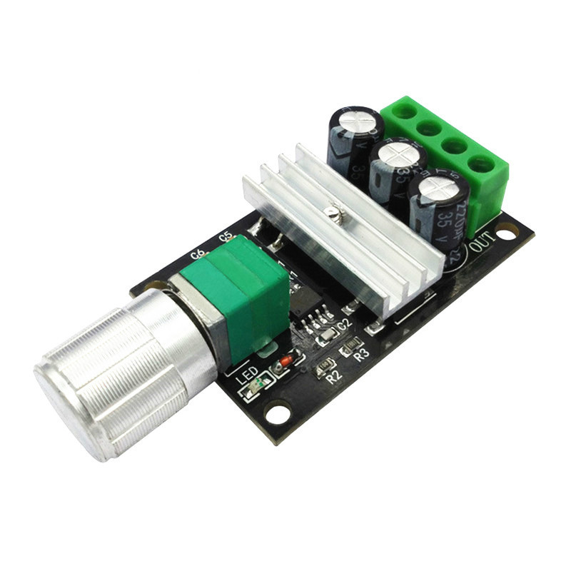 3 PCs Mini DC 6V//12V//24V//28V 3A PWM Motor Speed Regulator Controller Switch
