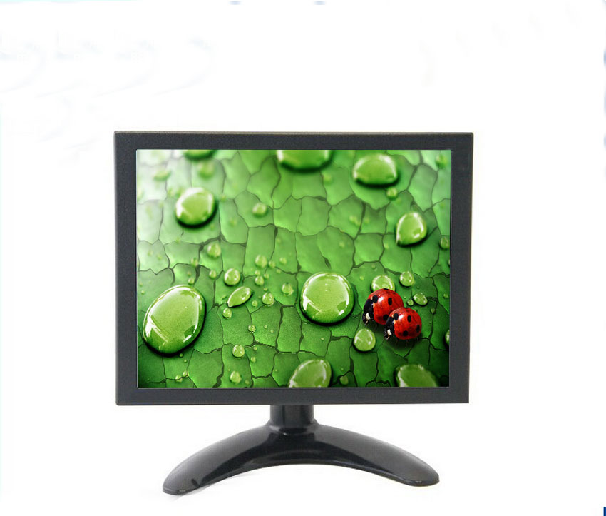 8 inch HD multifunctional metal monitor with USB /VGA /AV/BNC/ HDMI /AV