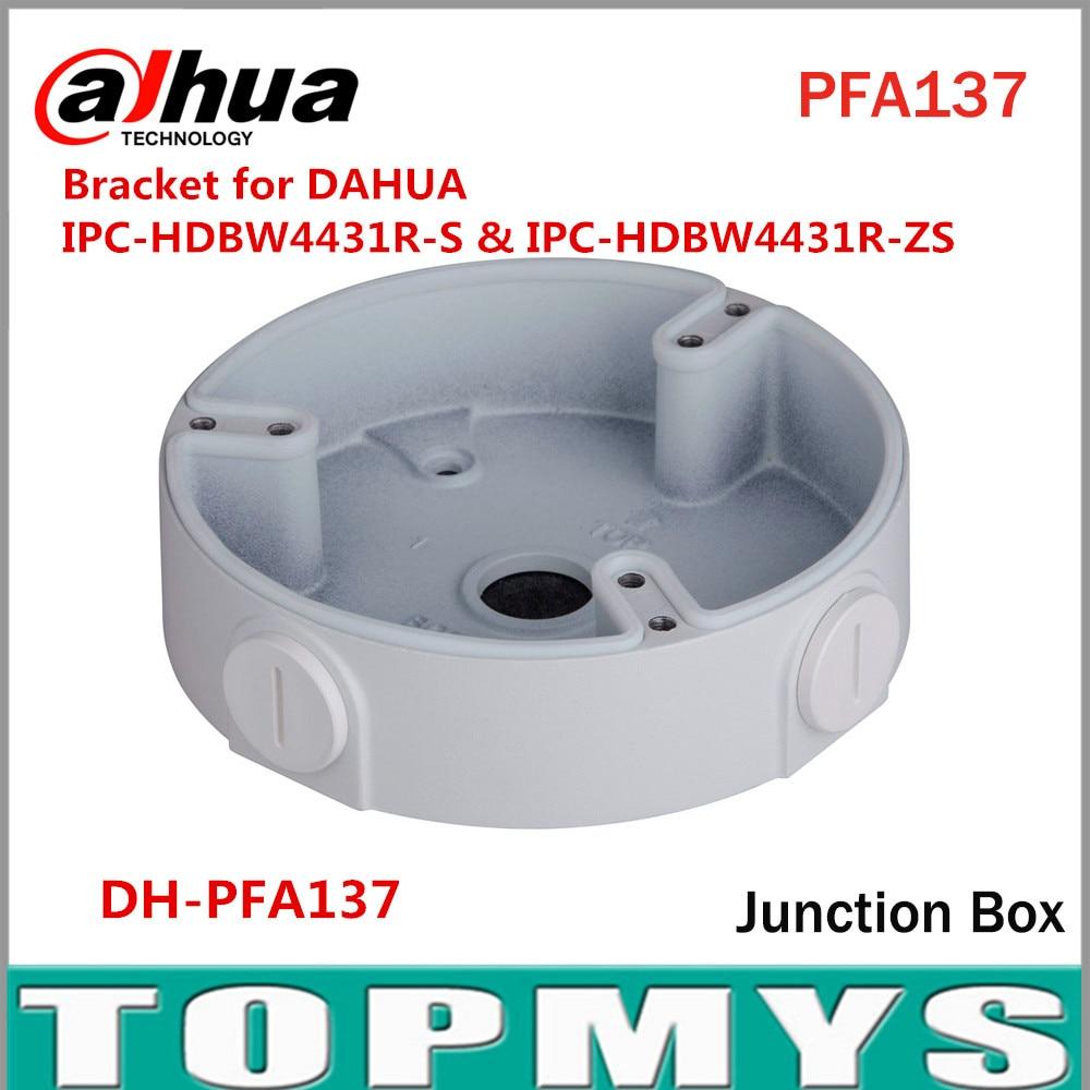 Dahua Waterproof Junction Box PFA137 for Dahua IP Camera IPC-HDBW4431R-S & IPC-HDBW4431R-ZS CCTV Mini Dome Camera DH-PFA137 видеокамера ip dahua dh ipc hdbw2220rp zs 2 7 12мм 1 2 8 1984x1225