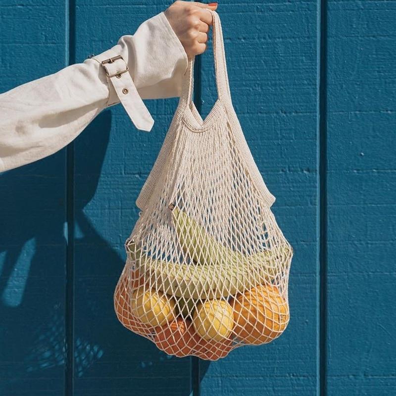 Luggage & Bags Trustful Ins The Same Paragraph Net Pocket Handbag Handbag Fruit Net Handmade Holiday Wind Shoulder Bag Hollow Woven Bag Comfortable Feel Women's Bags