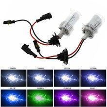 PKCELL 2 шт 100 Вт 12 В HID 6000 K/8000 K/10000 K светодиодные лампы для фар H7 для автомобилей Замена аксессуары автостайлинг для автомобильных фар
