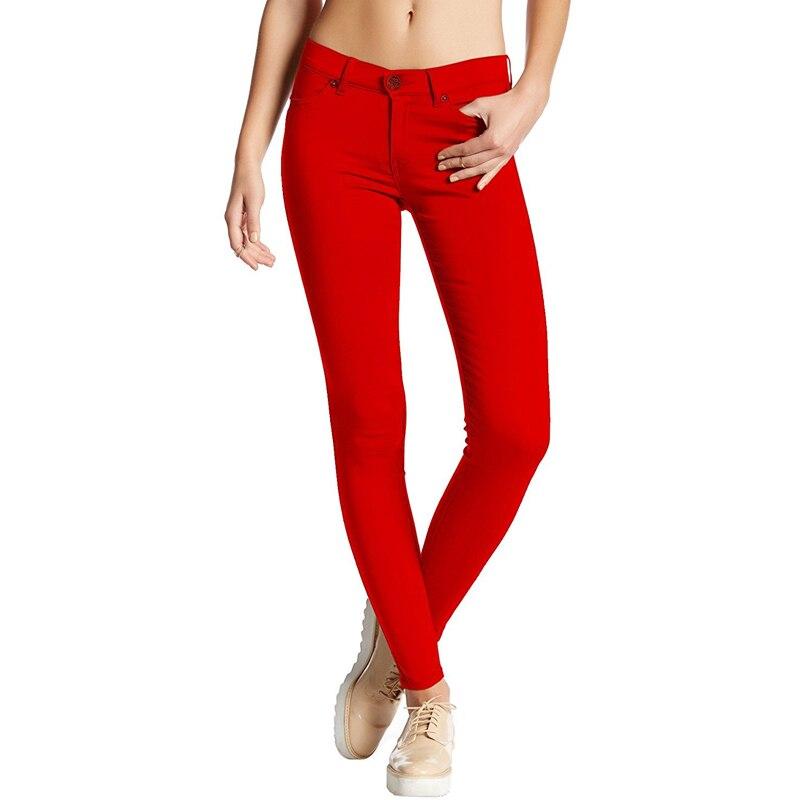 New Sexy Women Skinny Pants Solid High Waist Stretch Pants Casual Slim Trousers Pencil Plus Size Femme Pantalon 2019 Fashion