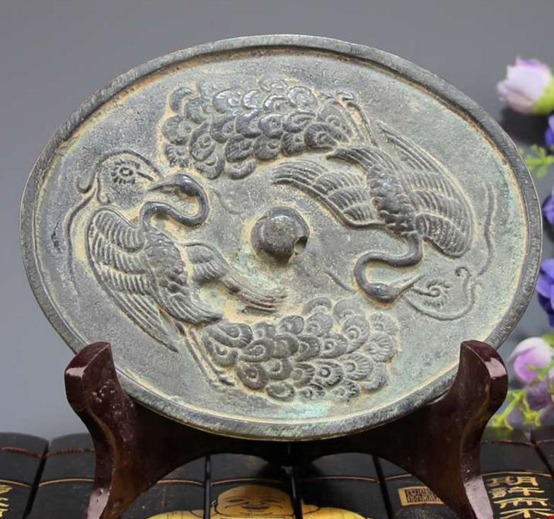 Home Decorators Collection Coupon Free Shipping: Antique Peacock Bronze Mirror Oval Bronze Mirror,Handmade