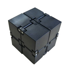 2019 New Trend Creative Infinite Cube Infinity Cube Magic Cube Office Flip Cubic Puzzle Anti Stress Reliever Autism Toys(China)