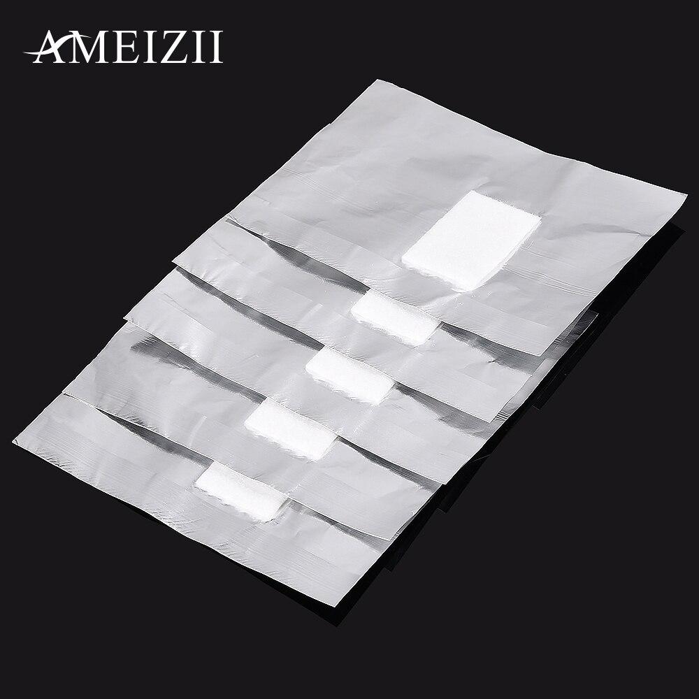 Tanphon.com | AMEIZII 100Pcs Aluminium Foil Nail Art Soak Off ...