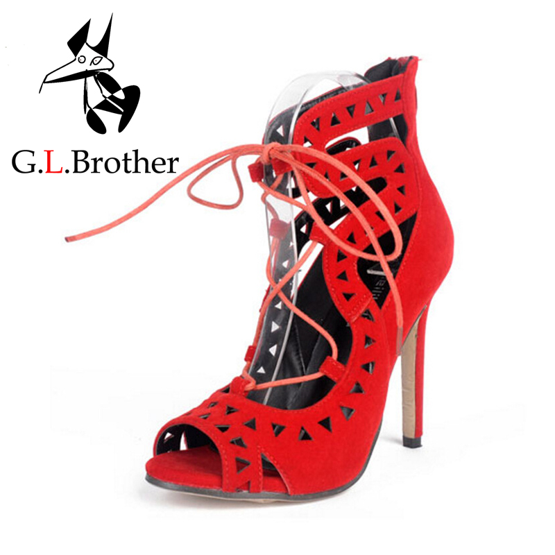 Popular Red Gladiator Heels-Buy Cheap Red Gladiator Heels lots