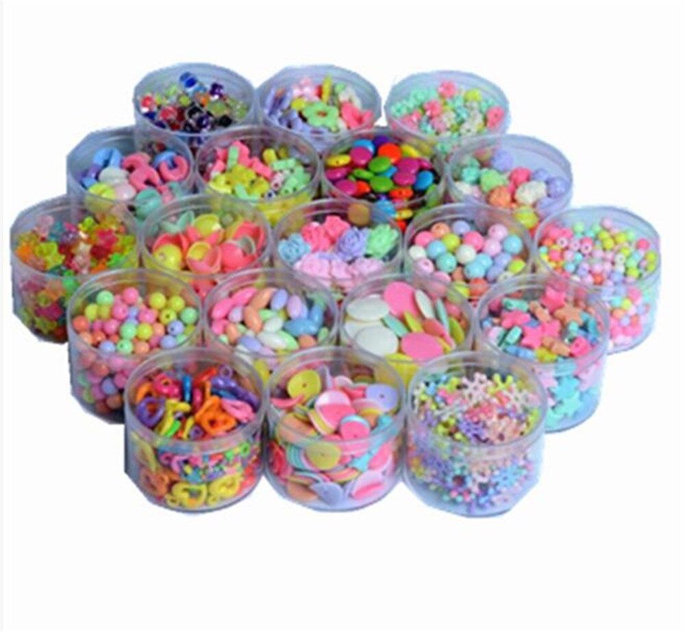 meilleur choix 100 pcs acrylique perles pour enfant filles collier