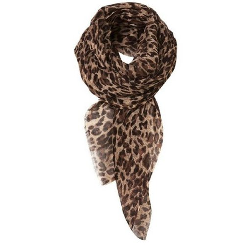 New Girl Fashion Leopard Pattern Shawl Scarf Wrap for Women Gifts gaze de paris ...
