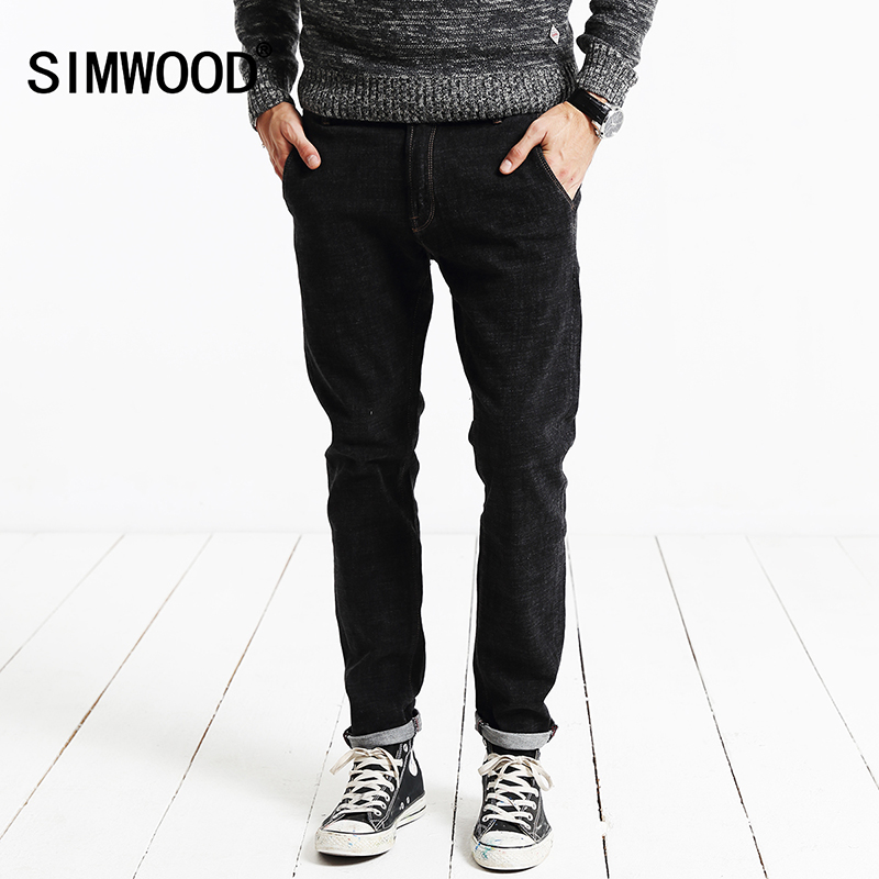 SIMWOOD 2017 New Winter Autumn Fashion Jeanss