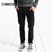 SIMWOOD 2017 New Winter Spring Fashion Jeans Men Casual Denim Pants Long Trousers Slim Fit SJ6074