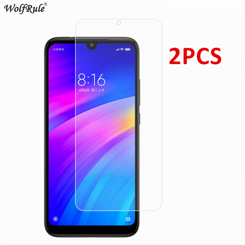Image 5 - 2Pcs Protective Glass For Xiaomi Redmi 8A 7 5A 4A S2 Note 8 Screen Protector Tempered Glass For Xiaomi Redmi 8A Glass Phone Film-in Phone Screen Protectors from Cellphones & Telecommunications