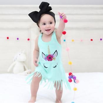 Unicorn Casual Knee-length Dress