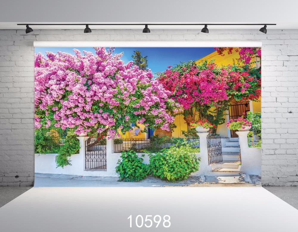 Pozadina pozadine fotografije Dvorište Studio Bez šavova 6 x 9ft - Kamera i foto - Foto 1