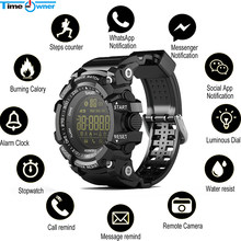 Time Owner Bluetooth Clock EX16 Smart Watch Notification Remote Control Pedometer Sport Watch IP67 Waterproof Men's Wristwatch(China)