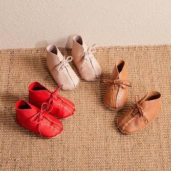 Chaussures Bébé Nouveau Né | Bricolage Bébé Chaussures Peau De Vache à La Main Couture Filles Chaussures Par Vous-même Cadeau Pour Nouveau-né Chaussures Premiers Marcheurs Garçons Bébé Mocassins
