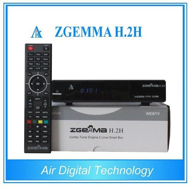 US $681 58 |10pcs New Version Zgemma H 2H Dual Core Combo DVB S2+DVB T2/C  Hybrid USB WIFI Linux E2 HBBTV Receiver-in Satellite TV Receiver from