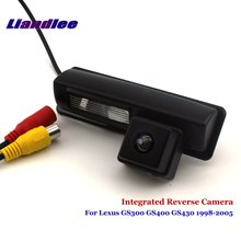 цена на Liandlee For Lexus GS300 GS400 GS430 1998-2005 Car Rear View Backup Parking Camera Rearview Reverse Camera / SONY CCD HD