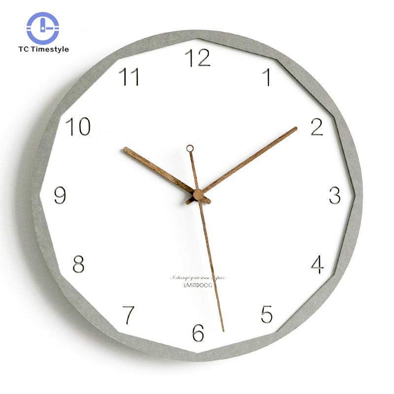 Nordic Clock Creative Simple Fashion Wall Clocks Home Decoration Accessories Modern Living Room Quartz WatchesNordic Clock Creative Simple Fashion Wall Clocks Home Decoration Accessories Modern Living Room Quartz Watches