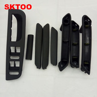 SKTOO Black Interior Door Handle With Trim 3B0867172 3B4867372 For VW Passat B5 3B4867179A,3B4 867 179A,3B4867371,3B4 867 371