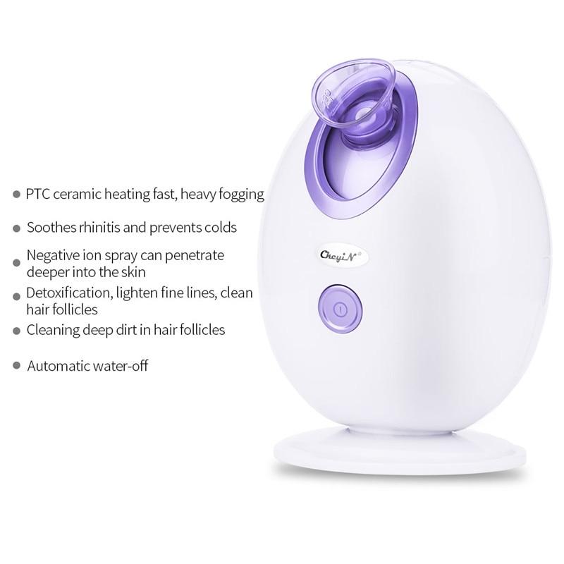 Steam Ozone Facial Steamer Nano Face Sprayer Vaporizer Skin SPA Beauty Instrument Machine Whitening Moisturizing Exfoliating