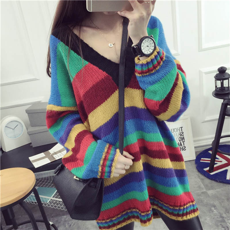dfad0981b US $24.45 16% OFF|Big Size Winter Korean Oversized Sweater Plus Size Sueter  Mujer Womens Sweaters Pullover Women Sweaters Kardigan Chandail Femme -in  ...
