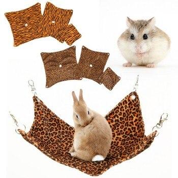 Criceto Hangmat Guinea Pig Cincillà Coniglio Gabbia Dell'animale Domestico A Pelo Amaca Coniglio Cincillà Hedgehog Ratto Appeso Letto Accessori 1
