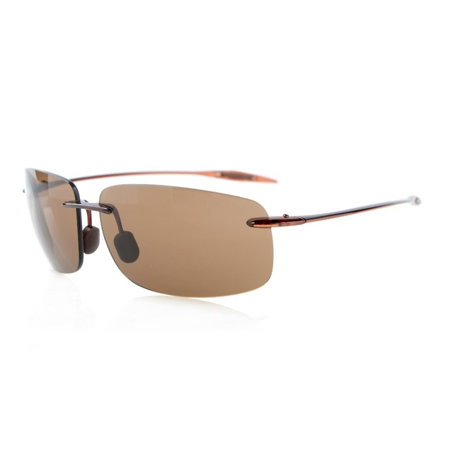 LQ-S1607 Eyekepper Rimless Sunglasses TR90 Unbreakable Frame Trogamidcx Nylon Lenses Men Women