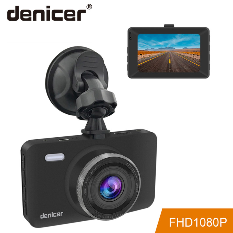 Denicer Dash Cam FULL HD 1080P Registrar Vehicle Camera 3 0 Inch Screen Dashboard Camera Auto