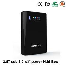 1ไตรโลไบต์2.5 HDDฮาร์ดดิสก์ไดรฟ์Enclosure SATA USB 3.0 WiFi Repeater R Outer 4000มิลลิแอมป์ชั่วโมงPower Bank HDDกรณี
