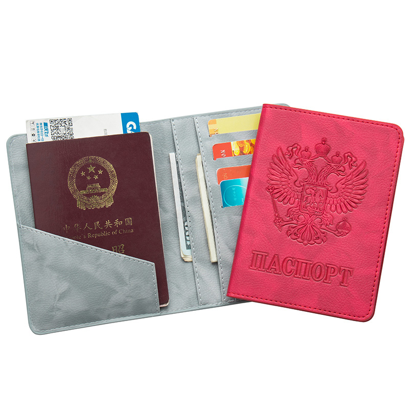 Travel Passport Holders Ticket Protector Cover Skin Case Credit ID Card Cover